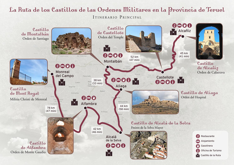 itinerario-castillos-teruel