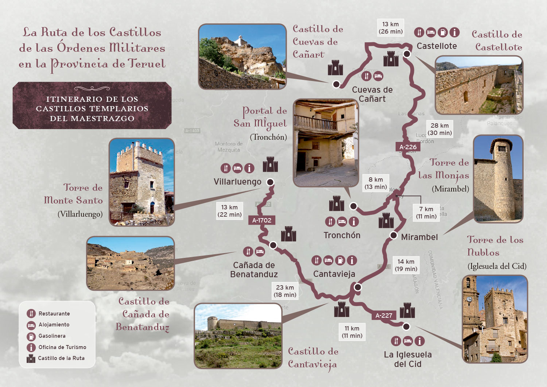 itinerario-orden-temple-maestrazgo